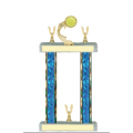 Trophies - #F-Style Tennis Ribbon Star
