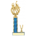 Trophies - #C-Style Volleyball Co-Ed Double Action Laurel