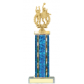 Trophies - #D-Style Volleyball Co-Ed Double Action Laurel