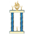 Trophies - #F-Style Volleyball Co-Ed Double Action Laurel