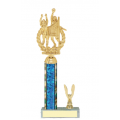Trophies - #C-Style Volleyball Female Double Action Laurel