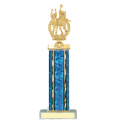 Trophies - #D-Style Volleyball Female Double Action Laurel