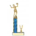 Trophies - #C-Style Volleyball Female Player