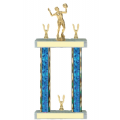 Trophies - #F-Style Volleyball Female Player