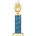 Trophies - #D-Style Volleyball Male Double Action Laurel