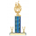 Trophies - #E-Style Volleyball Male Double Action Laurel