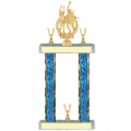 Trophies - #F-Style Volleyball Male Double Action Laurel