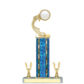 Trophies - #E-Style Volleyball Ribbon Star