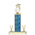 Trophies - #E-Style Volleyball Shooting Star Spinner