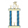 Trophies - #F-Style Volleyball Shooting Star Spinner